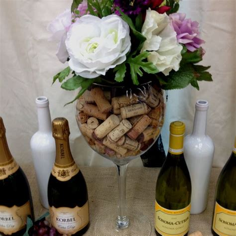 large wine glass centerpiece wine glass centerpiece wine tasting bridal shower glass centerpieces