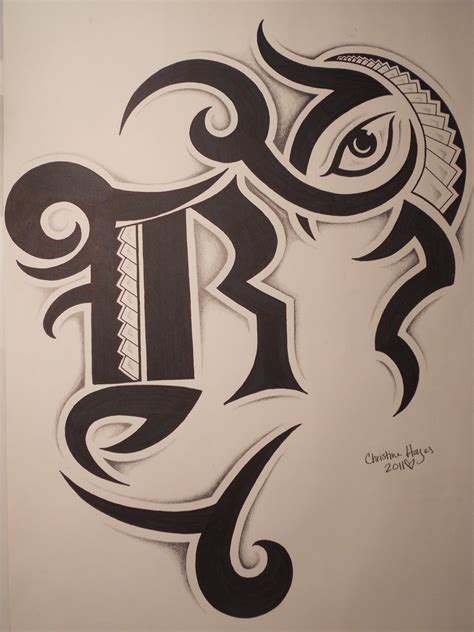 tattoo letter r design letter r tribal www imgkid the image kid