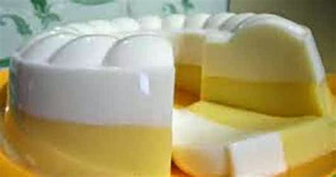resep  membuat puding jagung susu lembut enak