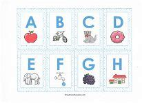 printable alphabet go fish cards learning capital letters with a dauber alfabet karty