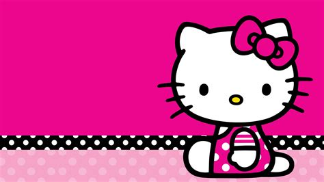 wallpapers hello kitty download hello kitty black and pink wallpaper 60 images