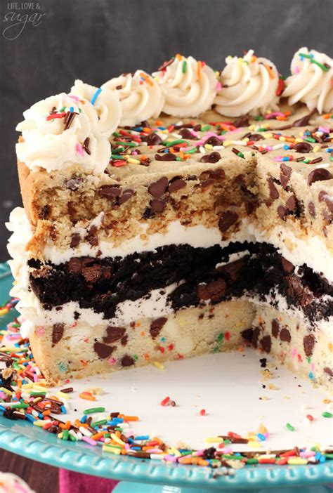 ultimate chocolate chip cookie layer cake life love and sugar