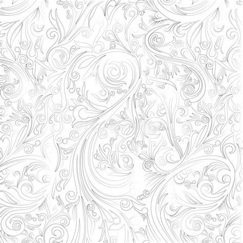 batik abstract swirl  white shape  yogyakarta stock