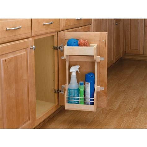 kitchen under sink storage under sink storage organization pinterest