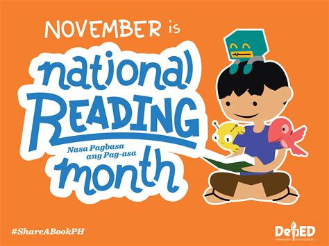 theme for education week 2014 philippines buwan ng pagbasa national reading month 2015 official
