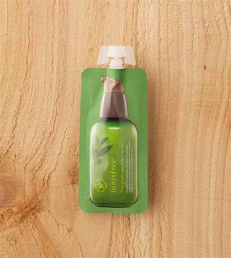 harga spesifikasi innisfree the green tea seed serum