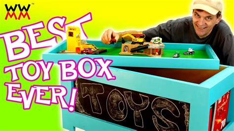 diy toy box super easy  build  plans youtube