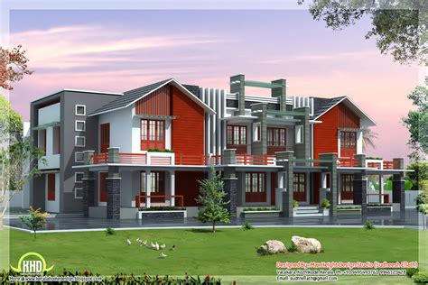 house plans luxury super luxury 6 bedroom india house plan kerala home design and floor plans