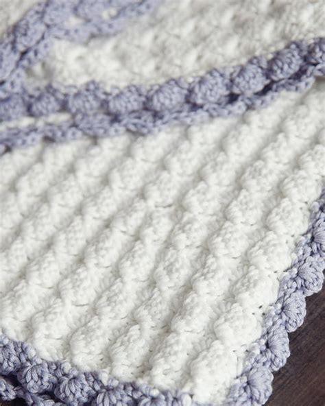 vintage chic crochet baby blanket allfreecrochetafghanpatternscom