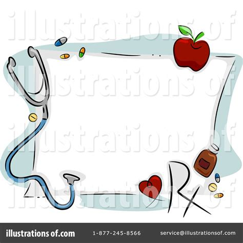 Border Clipart 1255757 Illustration By by Clipart Border Pencil And In Color