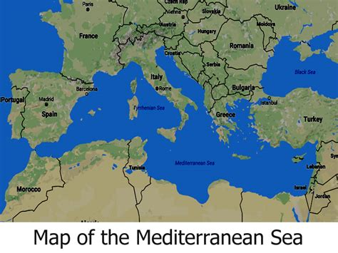 map of mediterranean map of the mediterranean sea all five oceans