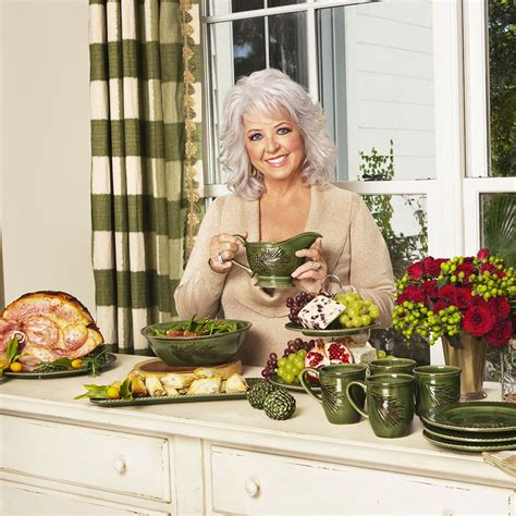 at the southern table with paula deen paula deen 58664 signature dinnerware southern pine gravy