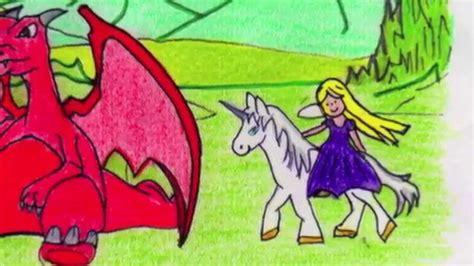 el dragn la princesa quot el unicornio el drag 243 n y la princesa quot sof 237 a s 225 nchez jard 237 n infantil casa cuento youtube