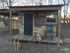 Good 84 Lumber House Plans #4: Man-builds-12x12-tiny-cabin-using-free-pallet-wood-dogs-600x450.jpg