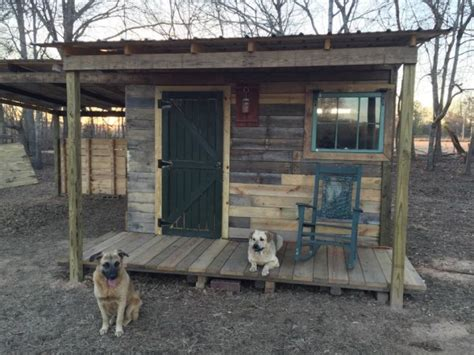 Cabin Out Of Pallets by Builds 12x12 Tiny Pallet Cabin With Free Pallet Wood