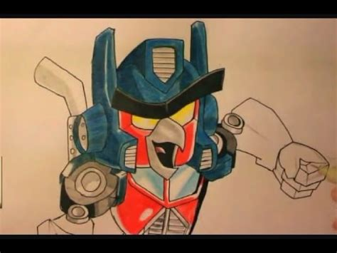 How To Draw Optimus Prime Bird