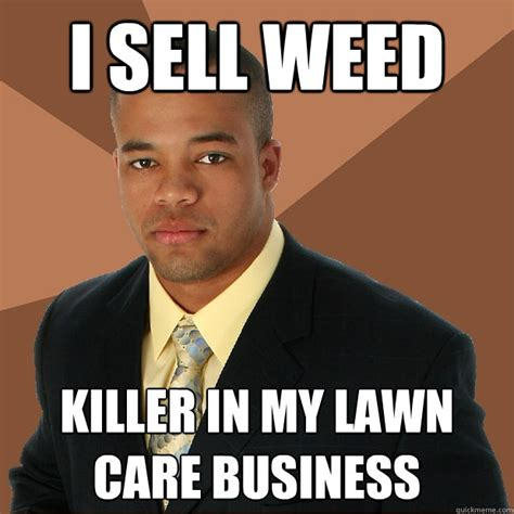 Childcare Meme - i sell weed killer in my lawn care business successful