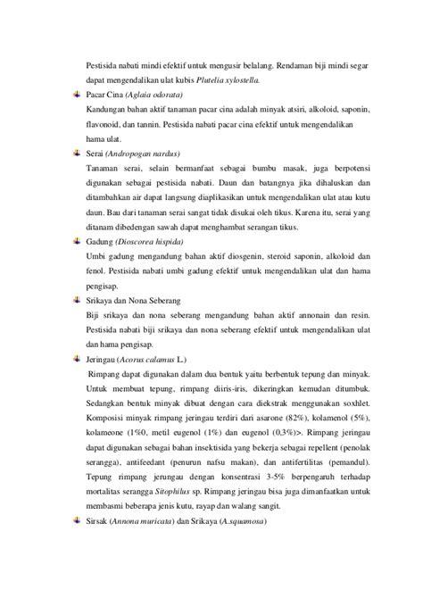 Daun Mimba Segar Bahan Herban Dan Peptisida Nabati pestisida dan teknik aplikasi pest hayati dan pest nabati