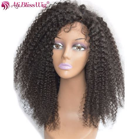 aliblisswig glueless lace front wigs curly 16inches
