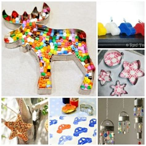cookie crafts perler bead cookie cutter ornaments ted s