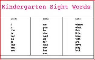 sight words for kindergarten worksheets abitlikethis