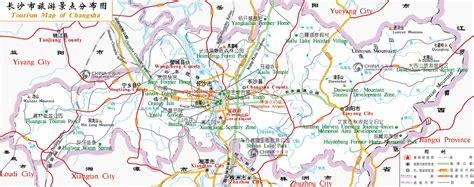 Tourist Map of Changsha, China Changsha Tourist Map ...