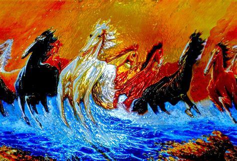 imagenes artisticas gratis gratis illustratie paarden kunst foto artistieke