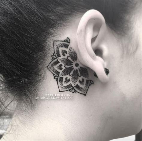 circle tattoo behind ear 63 fabulous feminine tattoo design ideas tattooblend