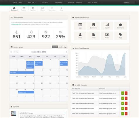templates bootstrap with admin smart admin bootstrap templates