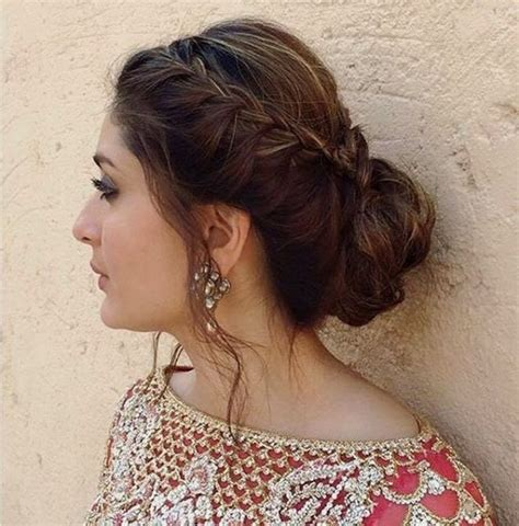 indian party hairstyles for round face latest eid hairstyles collection 2017 2018 for women