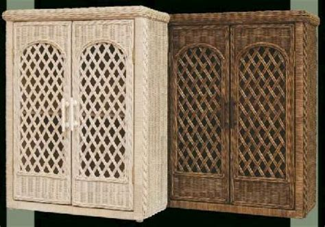 Wicker Bathroom Cabinet Wicker Bathroom Wall Shelf Wicker Wall Cabinet