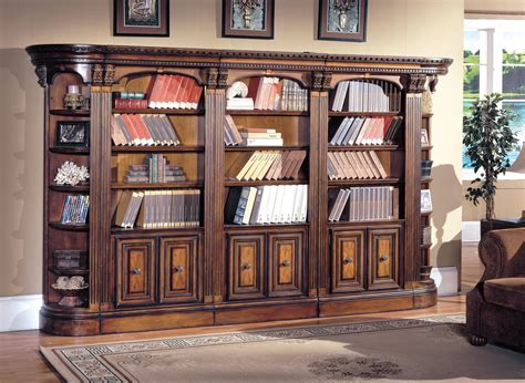 Bookcase Wall Unit The Huntington Bookcase Wall Unit 3235