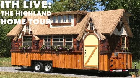 tiny house living tuesday s tiny house tour incredible tiny homes live quot the highland quot completed home