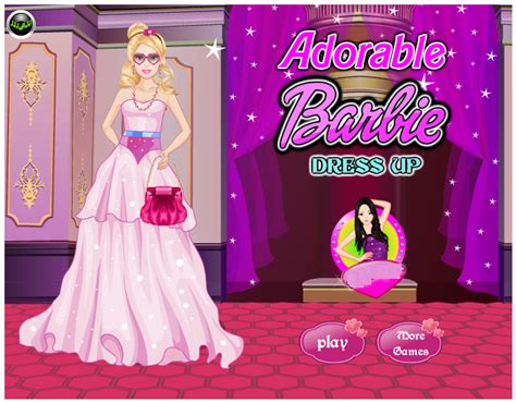 design clothes games barbie adorable barbie dressup game by willbeyou on deviantart
