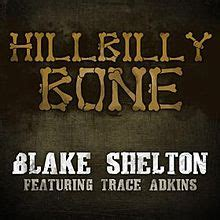 shelton hillbilly bone hillbilly bone song