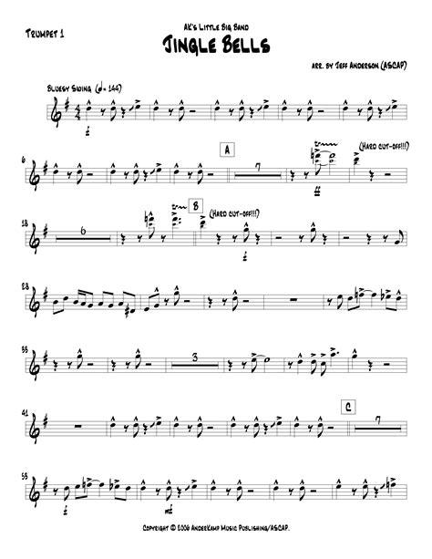 ak music jingle bells ak little big band anderk music