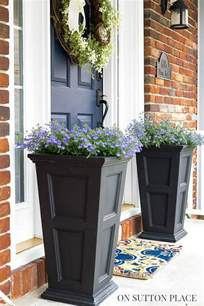 5 easy ways to refresh your front door on sutton place