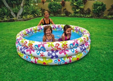 Intex Four Ring Pool 168cm X 46 Cm intex 3 ring color splash pool 56440 deals
