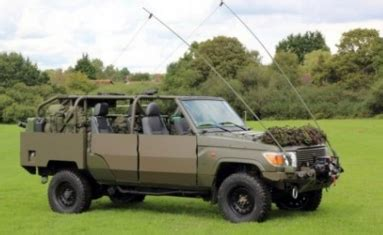 R 2004 Ala Army the jankel fox will replace the last vw iltis jeeps