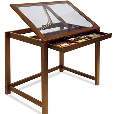 Drafting Table Ikea Simplify Your Job By Choosing The Glass Drafting Table With Light