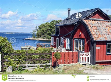 High End House Plans swedish countryside near editorial photography image