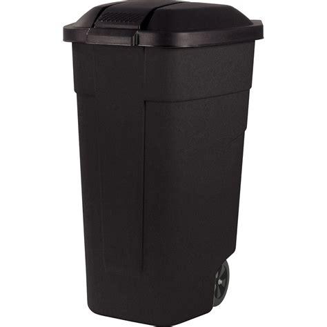 poubelle de rue 110 l h 58 x l 52 x p 88 cm leroy merlin