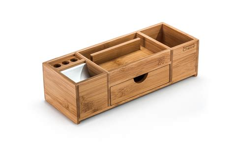 office desk caddy organizer bamboo office caddy and desk organizer prosumer s choice