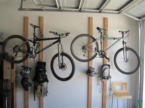bike rack garage wall 5 bike storage ideas to create appropriate place for bicycles midcityeast