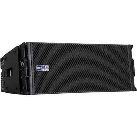 Speaker Line Array Rcf rcf ttl33a 750w dual 8 quot active 3 way line array speaker module new