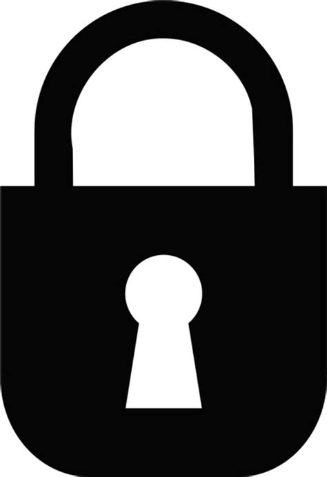 lock free icon in format for free download 58 99kb padlock monochrome free vector in open office drawing svg svg vector illustration graphic