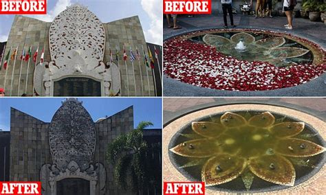 bali bombings memorial kuta left  ruin weeks