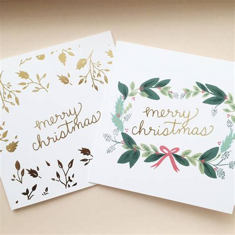 Card Painted painted card pack of 10 by sonni blush paper co notonthehighstreet