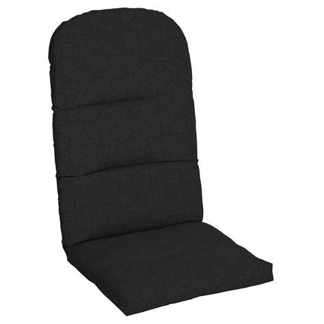 Sunbrella Adirondack Chair Cushions by Home Decorators Collection Sunbrella Canvas Black Outdoor