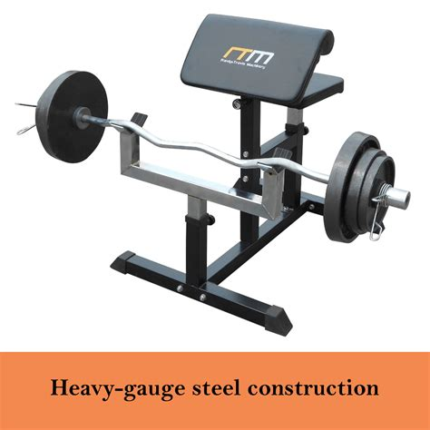 curl bench fitness equipment new curl bench press heavy duty adjustable home gym